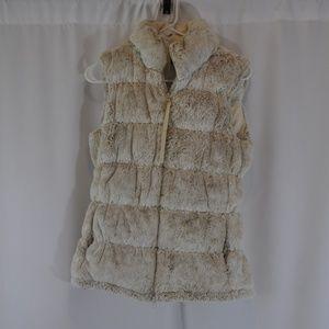 Athleta Faux Fur Vest - S